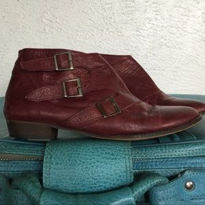 soft leather booties